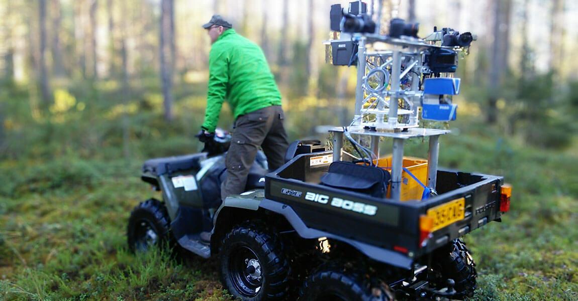 Laserkeilaus MLS metsä