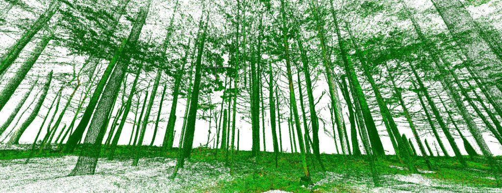 Liikkuvaan kartoitukseen perustuvaa huipputason metsäinventointitutkimusta