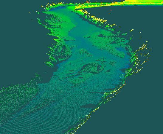 Pistepilviä pinnan alta: ympäristötutkimus, tulvasuojelu ja virtuaalimaailmat uudelle tasolle